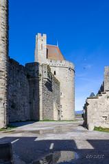 CARCASSONNE-096--OCCITANIE-PANORAMIQUE-_DSC0406 (bercast) Tags: aude carcassonne chateau chateaumedieval france occitanie ue bc bercast lamuraille àlintérieurdeacitédecarcassonne