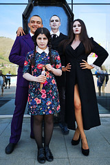 The Addams family at the Letniy Gornoluzhnik festival in Krasnoyarsk - Siberia - Russia (PascalBo) Tags: huawei p20pro asia asie northasia asiedunord russia russie россия russianfederation siberia sibérie сибирь krasnoyarsk krasnoïarsk красноярск woman femme man homme addams people summer festival followupsiberia bobrovylog outdoor outdoors pascalboegli
