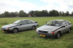Two of a kind (Fuego 81) Tags: renault fuego gtx 1985 np88fb onk sidecode4 gts 1981 71srpd sidecode6