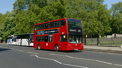 Thirteen Added On (londonbusexplorer) Tags: tower transit adl enviro 400 hybrid dnh39117 sn12arz 23 westbourne park hammersmith tfl london buses