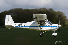 G-SHCK Comco Ikarus C42 (Gary J Morris) Tags: badminton airfield generalaviation gshck comco ikarus c42 04052019 garymorris