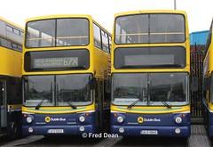 Dublin Bus AV25/45 (00D40025/45). (Fred Dean Jnr) Tags: dublinbus bstone volvo b7tl alexander alx400 av25 av45 00d40025 00d40045 broadstone dublin february2013 busathacliath dublinbusyellowbluelivery