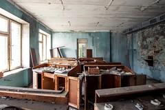 dental lab, Prypjat. (maecces) Tags: lost lostplace urbex urbanexploration abandoned ukraine tschernobyl prypjat
