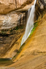 Another Side of Calf Creek (Ralph Earlandson) Tags: grandstaircaseescalante utah waterfall desert coloradoplateau calfcreekfalls escalantecanyons