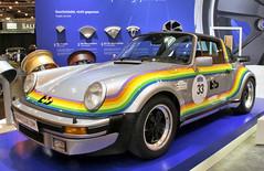 bb Rainbow (Schwanzus_Longus) Tags: techno classica essen german germany old classic vintage car vehicle porsche 911 turbo targa bb rainbow