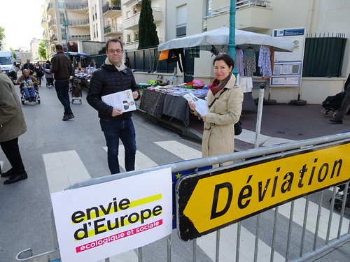 Tractage marché Victor Hugo - 12 mai 2019