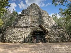 Cobá Maya Ruins - Coba Mexico (mbell1975) Tags: tulum quintanaroo mexico coba yucatán peninsula yucatan maya mayan archeological park parc pyramid pyramide ancient mesoamerican steps step ruin ruins