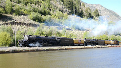 UP Big Boy #4014 and UP #844 Doubleheader Over Wasatch Grade! (844steamtrain) Tags: 844steamtrain up union pacific big boy 4014 steam locomotive engine train trains railroad railway 844 3985 sp 4449 prr 5550 t1 trust travel tourism adventure events science technology history metal machine most popular video videos top viewed views trending relevant recommended viral galore culture america usa google youtube facebook shared wasatch sherman hill flying scotsman lner mallard photography photo digital flickr