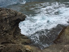 067_Azure Window (SmoKingTiger1551) Tags: malta gozo isle island azurewindow sea water waves rocks coast eroded mediterranean