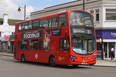 LJ61 NWH (WVL495) Go-Ahead London Blue Triangle (hotspur_star) Tags: londontransport londonbuses londonbus londonbuses2019 wrightbus volvoeclipsegemini tfl transportforlondon busscene2019 goaheadlondon bluetriangle lj61nwh wvl495 5