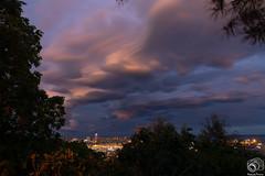 Nuvole su Genova (Ferdinando Francini) Tags: nuvole bluehour genova liguria nikond5200 tokina1116