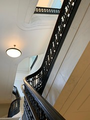 The Apple Carnegie Library (Mr.TinDC) Tags: dc washingtondc applecarnegielibrary applestore apple stairs staircase