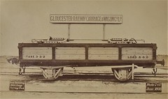 Perak State Railway - Four wheel (meter gauge) open side railway wagon (Gloucester Railway Carriage and Wagon Company, June 1893) (HISTORICAL RAILWAY IMAGES) Tags: train railway grcw gloucester perak fmsr malaya malaysia