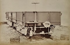 Taltal Nitrate Railway (Chile) - Bogie Ore Wagon (Gloucester Railway Carriage and Wagon Company, March  1891) (HISTORICAL RAILWAY IMAGES) Tags: train railway grcw gloucester taltal chile antofagasta