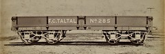 Taltal Nitrate Railway (Chile) - Bogie Ore Wagon (Gloucester Railway Carriage and Wagon Company, March  1891) (HISTORICAL RAILWAY IMAGES) Tags: train railway grcw gloucester chile taltal antofagasta
