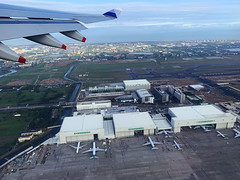 CI_flight_37 (chiang_benjamin) Tags: inflight chinaairlines skyteam a330 wing flying airplane plane taiwan tpe taipei airport aviation avgeek