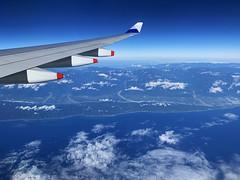 CI_flight_38 (chiang_benjamin) Tags: inflight chinaairlines skyteam a330 wing flying airplane plane taiwan aviation avgeek