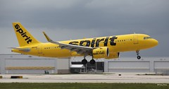 Airbus A320neo (N902NK) Spirit Airlines (Mountvic Holsteins) Tags: airbus n902nk spirit airlines 320