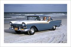 Vehicle Collection (9826) - Ford Fairlane (Steve Given) Tags: familycar motorvehicle automobile fordfairlane daytonabeach 1950s