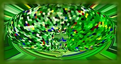 PDX World (Jim «JP» Hansen) Tags: ribbet abstract carpet pattern texture polar sphere pdx portlandinternationalairport donttreadonme