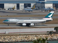 Cathay Pacific Cargo                                               Boeing 747                                B-HUP (Flame1958) Tags: cathaypacific cathaypacificcargo cathayb747 boeing b747 boeing747 100213 0213 2013 bhup hkg hongkongcheklapkok cheplapkok 3478
