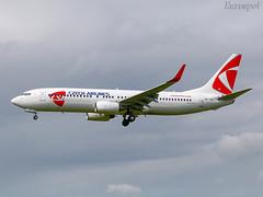 OK-TST Boeing 737 CSA (@Eurospot) Tags: oktst boeing 737 737800 csa toulouse blagnac
