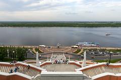 Nizhny Novgorod / Нижний Новгород (dmilokt) Tags: город city town нижнийновгород nizhnynovgorod dmilokt река волга стрелка river volga strelka лестница