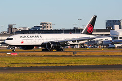 Air Canada Boeing 777-233/LR C-FNND (Mark Harris photography) Tags: spotting yssy sydney aviation canon 5d