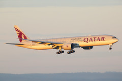 Qatar Airways Boeing 777-3DZ(ER) A7-BEU (Mark Harris photography) Tags: spotting yssy sydney aviation canon 5d