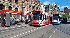 Zeg Mam, Waarheen? (Peter ( phonepics only) Eijkman) Tags: amsterdam city combino gvb tram transport trams tramtracks trolley rail rails strassenbahn streetcars nederland netherlands nederlandse noordholland holland