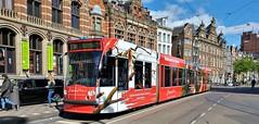 Naar Drenthe? Naar Geuzenveld... (Peter ( phonepics only) Eijkman) Tags: amsterdam city combino gvb tram transport trams tramtracks trolley rail rails strassenbahn streetcars nederland netherlands nederlandse noordholland holland