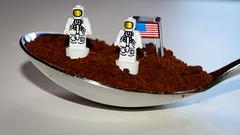 Spoon Landing (Yannis_K) Tags: macromondays spoonful macro tokina100mmf28macro nikond7100 yannisk spoon landing astronauts lego americanflag