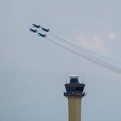 Blue Angels buzzing the tower (ep_jhu) Tags: blueangels xt3 andrewsafb aircraft hornet airplane flying usnavy formation fujifilm andrewsairforcebase legendsinflight military airshow f18 usn 2019 jointbase fuji andrewsfield maryland unitedstatesofamerica