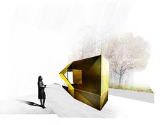 KIOSK - CORVIN PROMENADE (A4studio_architects) Tags: architect architecture architectdesign art a4studio archi architects arcthitect design designer details development draw decor sketch kiosk building budapest buildings