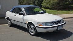 1998 Saab 900 S Convertible (Crown Star Images) Tags: crownstarimages csi dvs1mn automobile auto automobiles automotive antiquecars autoshow car cars carshow classiccars classic motorcars vehicle vehicles intermarque springkickoff intermarquespringkickoff foreign import importcars foreigncars vintageforeignmotorcars convertible droptop ragtop