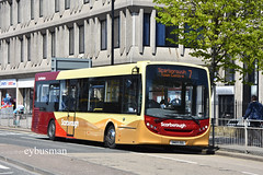 Go Ahead East Yorkshire 390 SN15ZGL. (EYBusman) Tags: dart 200 enviro dennis alexander locals livery new centre town scarborough coach bus hull eyms services motor yorkshire east north ahead go