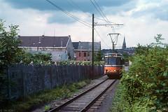 Lijn 31 laat Morlanwelz achter zich (Tim Boric) Tags: morlanwelz tram tramway streetcar strassenbahn buurtspoorweg buurtspoorwegen vicinal vicinaux interurban überlandbahn nmvb sncv typesj