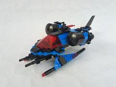 SP1 Wasp v2 (fdsm0376) Tags: brickpirate bpchallenge space classic police spacecraft spaceship lego moc