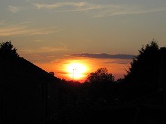 Sunset over Milton Keynes this evening #sunset #sunsets #redsky #redskyatnight #canon #sx530hs (Bucks photographer) Tags: redsky sunset sunsets redskyatnight sx530hs canon