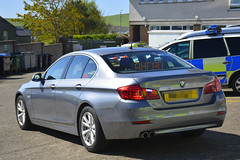 Unmarked Traffic Car (S11 AUN) Tags: isleofman manx police bmw 530d 5series saloon unmarked traffic car anpr video equipped rpu roads policing unit 999 emergency vehicle 2016
