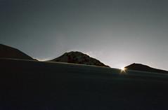 Sunrise (Alberto Cameroni) Tags: cyberviewxv51425 scanner primefilm castore monterosa valdaosta diapositiva pellicola analogica nikon agfa agfachrome nikkormat neve lyskammorientale nasodellyskamm aurora alba amanecer lyscamm