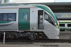 22027 at Heuston, 4/5/19 (hurricanemk1c) Tags: railways railway train trains irish rail irishrail iarnród éireann iarnródéireann dublin heuston 2019 22000 rotem icr rok 4pce 22027