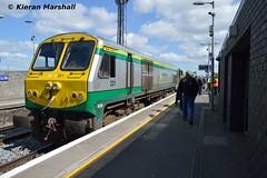 221 at Newbridge, 4/5/19 (hurricanemk1c) Tags: railways railway train trains irish rail irishrail iarnród éireann iarnródéireann 2019 generalmotors gm emd 201 newbridge 221 0925corknewbridge