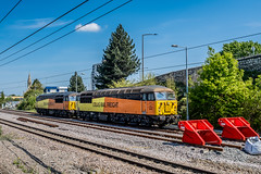 56090 56113 Colas Rail Freight Doncaster 13.05.19 (Paul David Smith (Widnes Road)) Tags: 56090 56113 colas rail freight doncaster 120519 56 class56