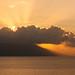 Sunset over Trujillo, Honduras