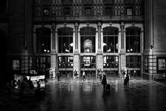 Antwerp central station (The Gaston Project) Tags: antwerpen antwerpencentraal thisisbelgium visitnamur mtnamurdinant flanders visitflanders blackandwhite leica leicax1 leicabnw leicanation leicausersbelgium city cityinblackandwhite