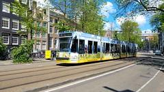 Wanderlust (Peter ( phonepics only) Eijkman) Tags: amsterdam city combino gvb tram transport trams tramtracks trolley rail rails strassenbahn streetcars nederland netherlands nederlandse noordholland holland