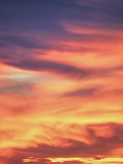 The Sky is Lava - Toulouse (Arnaud Gremillon) Tags: ciel nuage nuages sky cloud clouds red rouge coucher de soleil sunset abstrait abstract