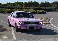 FORD Mustang Coupé - 1966 (SASSAchris) Tags: ford mustang coupé castellet circuit 10000 10000toursducastellet tours voiture américaine httt htttcircuitpaulricard htttcircuitducastellet ricard