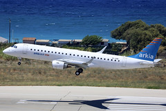 4X-EMB (QC PHOTOGRAPHY) Tags: rhodes diagoras greece july 28th 2018 arkia israeli airlines erj190 4xemb